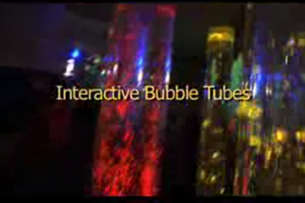 Interactive Bubble Tubes