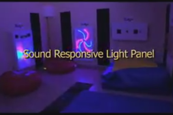 Sound Responsive Light Panel